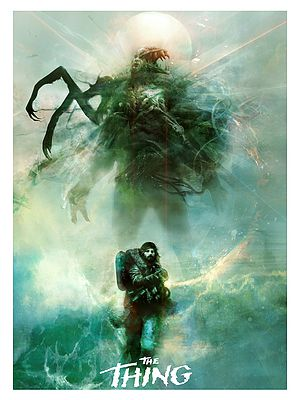 Wooden Nickel Artworks: The Thing by Christopher Shy.