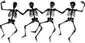 skeletonsdancetransparent