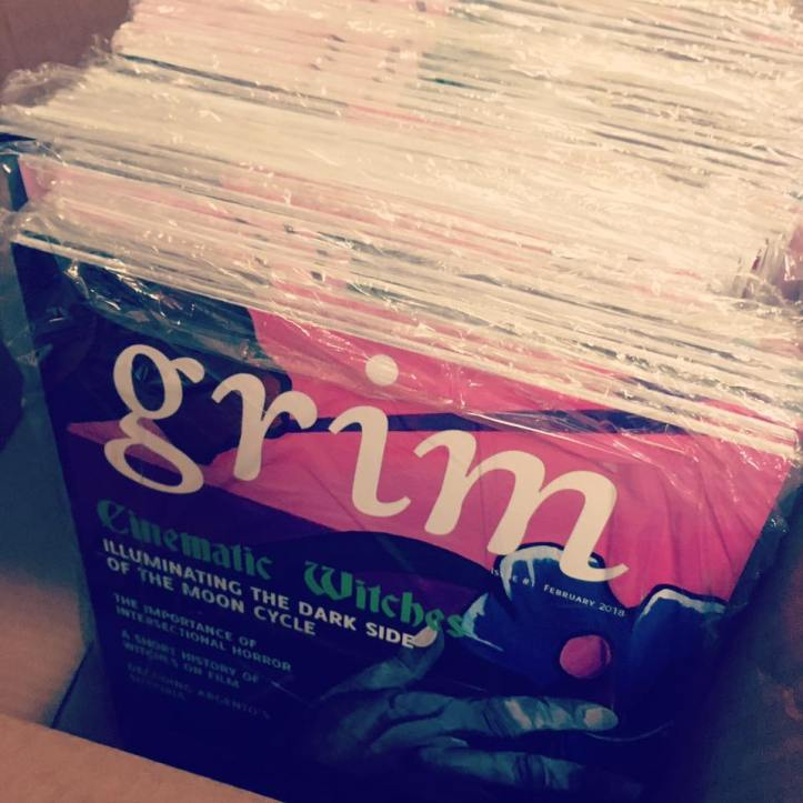 grim printed issues