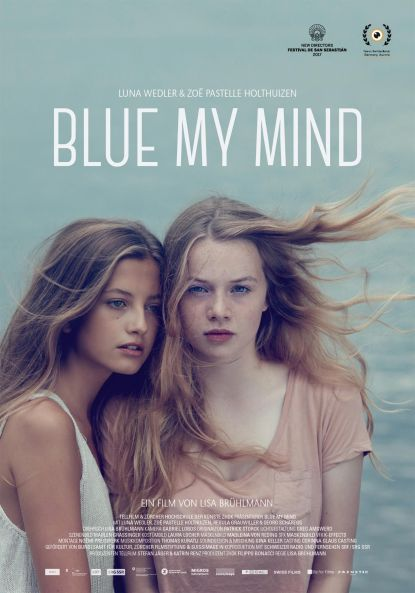 Blue My Mind Poster